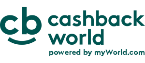 Cashback my world logo